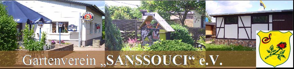 """Gartenverein """"Sanssouci"""" e.V."""